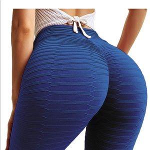 Pants - 048 Women Ruched Butt Lift Yoga Pants Leggings